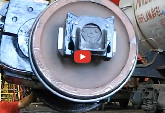colocando motor de tração